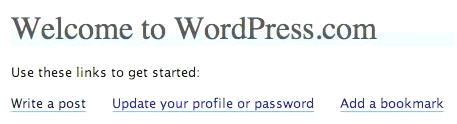 Добро пожаловать в WordPress