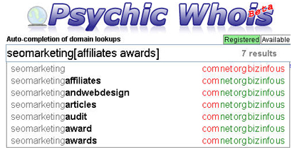 Psychic Whois