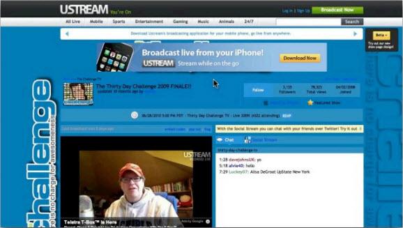 Ustream.TV - Подготовка к марафону 2010. День 1
