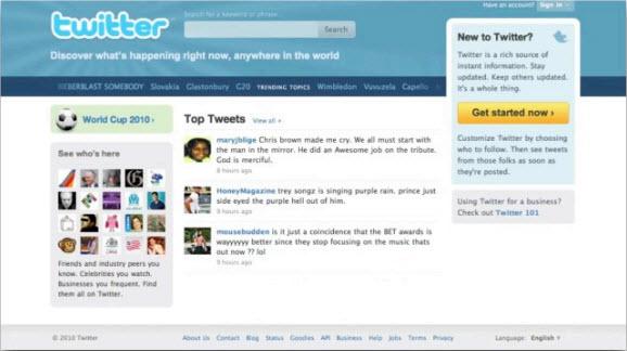 Twitter.com - Подготовка к марафону 2010. День 2