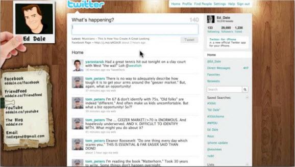 Follow за людьми на Twitter