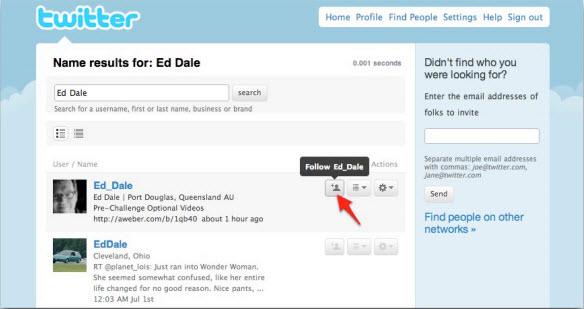 Поиск Ed Dale на Twitter.com
