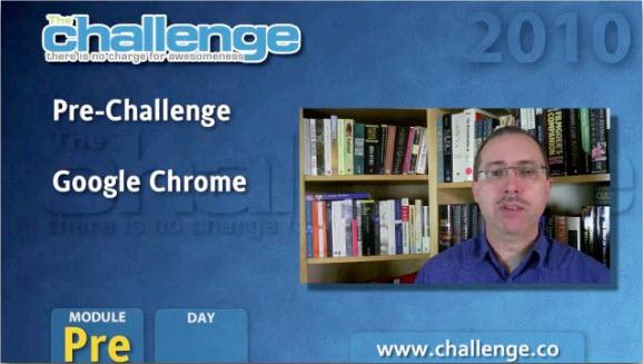 Google Chrome - Подготовка к марафону 2010. День 3