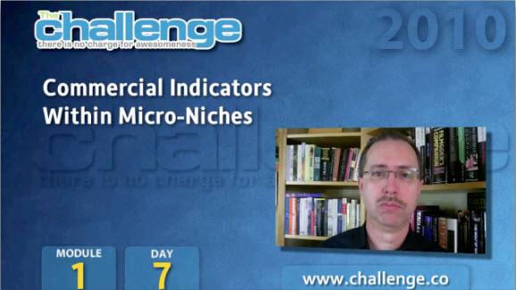 Коммерческие индикаторы микро ниши. Модуль 1. День 7