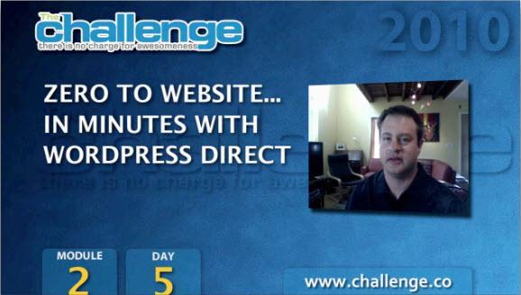 Установка WPD Blog и публикация первой статьи. Модуль 2. День 5