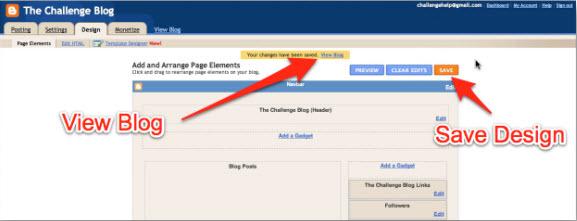 Настройка Blogger блога
