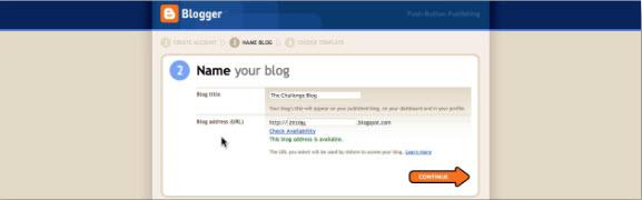 Заводим блог на Blogger.com