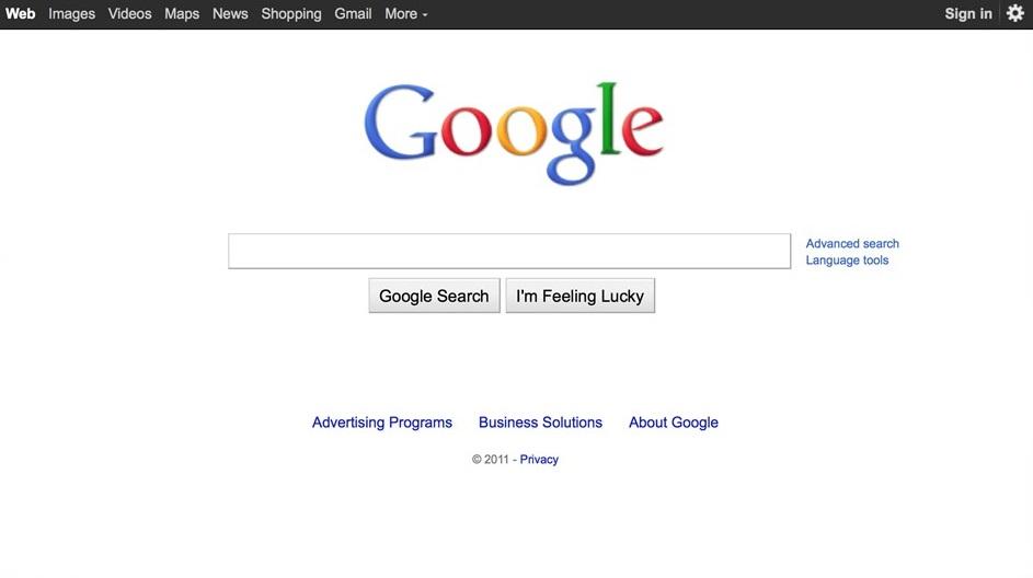2012 год. Пришел Google+